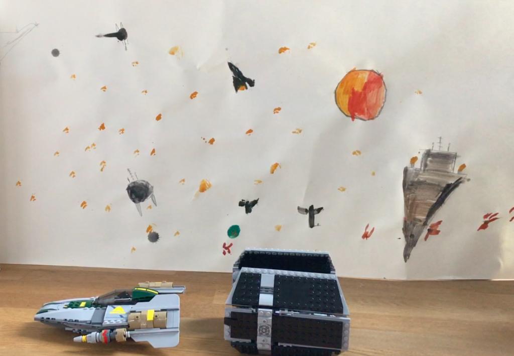 Lego Starwars Reise in fremde Galaxien